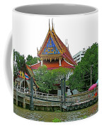 Wharf Along Waterway Of Bangkok-thailand Coffee Mug