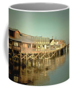 Fishermans Wharf Monterey California Coffee Mug