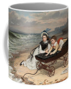 What Are The Wild Waves Saying? Coffee Mug by Charles Wynne Nicholls