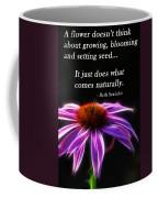 What Comes Naturally Coffee Mug
