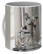 What Is Past Is Prologue Statue At National Archives -- 2 Coffee Mug