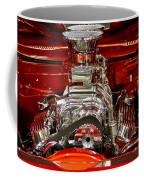 What Is Under The Hood-red Customized Retro Pontiac Coffee Mug