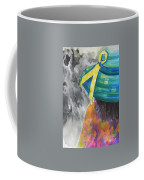 What Lies Ahead Series....chaos  Coffee Mug by Chrisann Ellis
