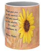What Sunflowers Do Coffee Mug