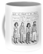 What They Brought To The Table -- A Line Coffee Mug
