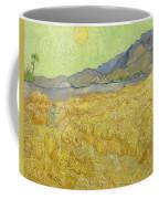 Wheatfield With A Reaper Coffee Mug