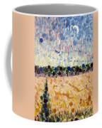 Wheatfields At Dusk Coffee Mug