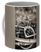 Wheel And Steam Coffee Mug