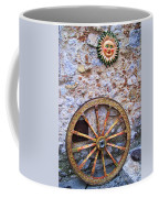 Wheel And Sun In Taromina Sicily Coffee Mug