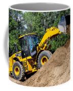 Wheel Loader Construction Site Coffee Mug