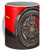 Wheel Of A Ferrari Coffee Mug
