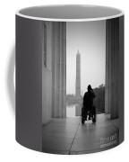 Wheelchair Vet Salute Coffee Mug