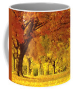 When Autumn Leaves Fall Coffee Mug