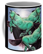 When Lightning Strikes Coffee Mug by Betsy Knapp