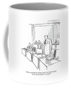 When My Distinguished Colleague Refers Coffee Mug