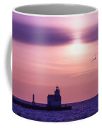 When The Deep Purple Falls Coffee Mug