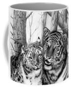 When Two Hearts Collide Coffee Mug