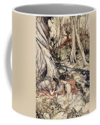 Where Often You And I Upon Fain Primrose Beds Were Wont To Lie Coffee Mug by Arthur Rackham