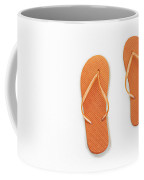 Where On Earth Is Spring - My Orange Flip Flops Are Waiting Coffee Mug