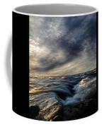 Where The River Kisses The Sea Coffee Mug