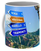 Where To Go Next Coffee Mug