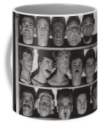 Find The Real Ventriloquist Head Coffee Mug