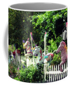 Whimsical Carousel Horse Fence Coffee Mug