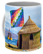Whiphala Flag On Floating Island Coffee Mug