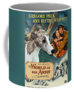 Whippet Art - The World In His Arms Movie Poster Coffee Mug