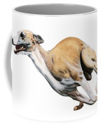Whippet In The Wind Coffee Mug
