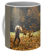 Whirling With Leaves Coffee Mug