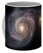 Whirlpool Galaxy 2 Coffee Mug by Jennifer Rondinelli Reilly - Fine Art Photography