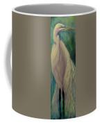 Whisper Of White, Bird  Coffee Mug