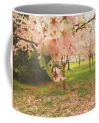 Whispering Cherry Blossoms Coffee Mug