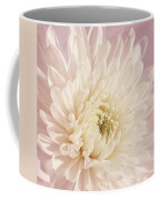 Whispering White Floral Coffee Mug