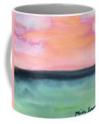 Whispy Pink/organge Sky Coffee Mug