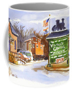 Whistle Junction In Ironton Missouri Coffee Mug by Kip DeVore