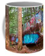 Whistler Train Wreck Box Car Graffiti Coffee Mug
