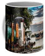 Whistles And Ship Coffee Mug