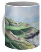 Whistling Straits 7th Hole Coffee Mug by Deborah Ronglien