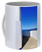 White And Blue To Ocean View Coffee Mug
