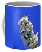 White And Wonderful Coffee Mug by Elizabeth Dow