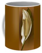 White Anthurium Flower Coffee Mug
