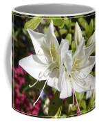 White Azaleas Coffee Mug