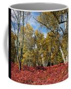 White Birches Of Fall Coffee Mug
