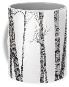 White Birches Coffee Mug