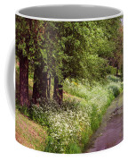 White Bloom Along The Dutch Canal. Netherlands Coffee Mug