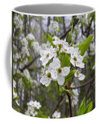 White Blooms Coffee Mug