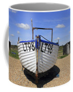 White Boat Coffee Mug