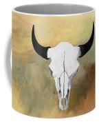 White Buffalo Skull Coffee Mug
